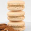 wedding almond macaron