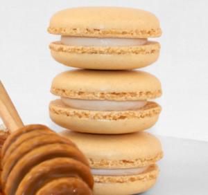 honey macaron
