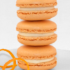 orange dreamsicle macaron